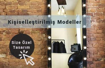 Işıklı Makyaj Aynası Kişiselleştirilmiş Modeller